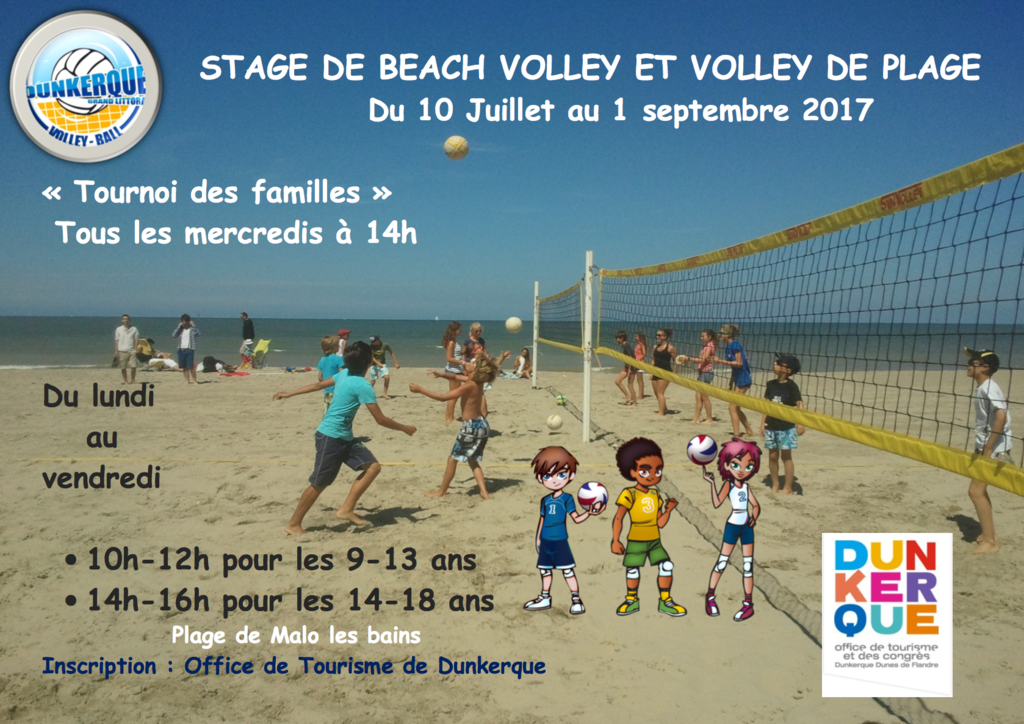 Stage Eole Beach Volley 2017