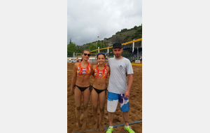 Coupe de France M17 Beach Volley  DIJON 2017