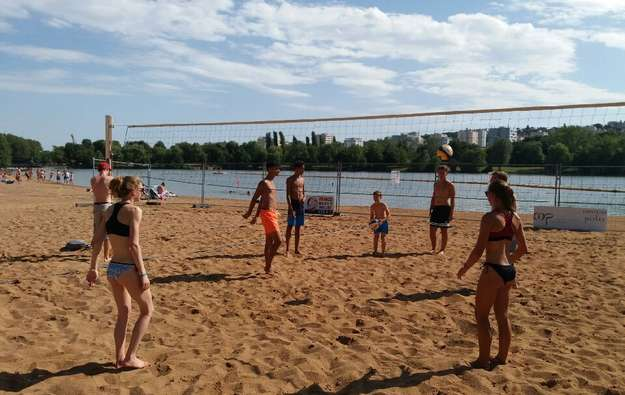 Coupe de France beach volley M17 DIJON